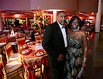 Commissioned by Florida A&amp;M University<br /> <br /> President Dr Elmira Mangum and her guest Earl Alston during the 2014 Presidential Scholarship Gala after the inauguration of Dr Elmira Mangum as FAMU's 11th president on the FAMU campus in Tallahassee, FL October 3, 2014.