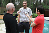 Tyson Fury media work out in Belgium.Holland