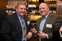 Christain Mulcahy of DSL Group (lef) with Mike Dickinson of Russell Scanlan