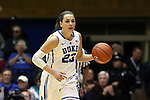 29 January 2015: Duke's Rebecca Greenwell. The Duke University Blue Devils hosted the University of Pittsburgh Panthers at Cameron Indoor Stadium in Durham, North Carolina in a 2014-15 NCAA Division I Women's Basketball game. Duke won the game 62-45.