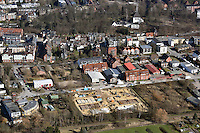 Fluechtlingsheim Brookkehre: EUROPA, DEUTSCHLAND, HAMBURG, BERGEDORF (EUROPE, GERMANY), 8.03.2015: Fluechtlingsheim Brookkehre