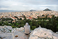 A young immigrant takes in the view of Athens from the Acropolis mountain. According to UNHCR, 38,992 immigrants arrived in Greece in the first 10 months of 2010, whereas in 2009 the number was only 7,574.