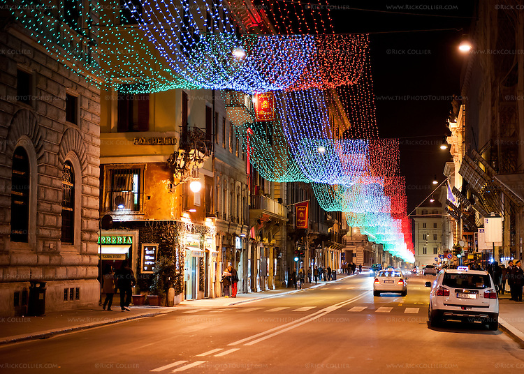Lights over the via del corso rick collier imagery for Mac roma via del corso