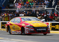 Jul 9, 2016; Joliet, IL, USA; NHRA pro stock driver Jeg Coughlin Jr during qualifying for the Route 66 Nationals at Route 66 Raceway. Mandatory Credit: Mark J. Rebilas-USA TODAY Sports
