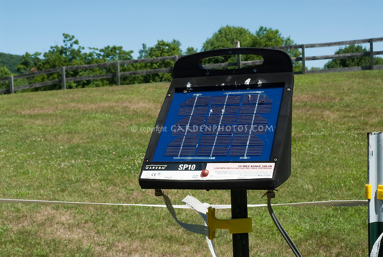 Electric Deer Fence Controller Solar Power Plant