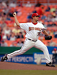 14 June 2006: Tony Armas, pitcher for the Washington Nationals, on the mound against the Colorado Rockies in Washington, DC. The Rockies defeated the Nationals 14-8 in front of 24,273 fans at RFK Stadium...Mandatory Photo Credit: Ed Wolfstein Photo.