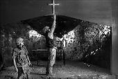 Bagram August - September 2002, Afghanistan. <br /> After 23 years of constant war Afghanistan tries to stand on its feet.  Military base in Bagram where the multinational troops are stationed.  <br /> (&copy; Filip Cwik / Napo Images for Newsweek Polska)<br /> <br /> Bagram sierpien - wrzesien 2002 Afganistan.<br /> Po 23 latach nieustajacych wojen Afganistan probuje stanac na nogi. W bazie wojskowej w Bagram stacjonuja wielonarodowosciowe wojska. <br /> ( &copy; Filip Cwik / Napo Images dla Newsweek Polska )