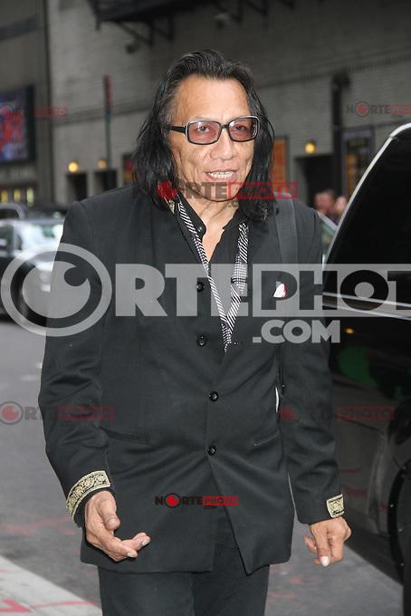 NEW YORK,NY - August 14, 2012: Rodriguez at Late Show With David Letterman in New York City. &copy; RW/MediaPunch Inc. /NortePhoto.com<br /> <br />  **CREDITO*OBLIGATORIO** *No*Venta*A*Terceros*<br /> *No*Sale*So*third* ***No*Se*Permite*Hacer Archivo***No*Sale*So*third*