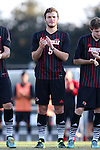 23 October 2015: Louisville's Ethan Vanacore-Decker. The University of North Carolina Tar Heels hosted the University of Louisville Cardinals at Fetzer Field in Chapel Hill, NC in a 2015 NCAA Division I Men's Soccer match. UNC won the game 2-1.
