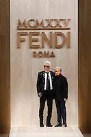 FEB 23 FENDI show at Milan Fashion Week