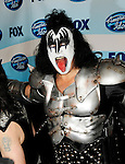 Kiss - Gene Simmons  at the 2009 American Idol Finale at the Nokia Theatre in Los Angeles, May 20th 2009...Photo by Chris Walter/Photofeatures