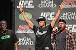 July 1, 2011: UFC 132 Weighin - Cruz vs Faber