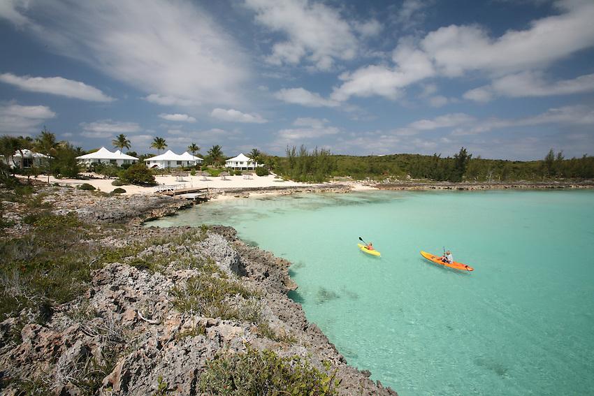 kayakers at The Cove