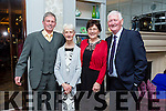 At the Recovery Haven 'Valentines With A Difference' in the rose Hotel on Tuesday were Michael O'Shea, Anna Marie O'Shea, Anna Hanafin and Michael Hanafin