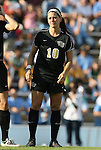 27 September 2009: Wake Forest's Bianca D'Agostino. The University of North Carolina Tar Heels defeated the Wake Forest University Demon Deacons 4-0 at Fetzer Field in Chapel Hill, North Carolina in an NCAA Division I Women's college soccer game.