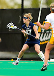 1 May 2010: University of New Hampshire Wildcat midfielder Hayley Rausch, a Sophomore from Severna Park, MD, in action against the University of Vermont Catamounts at Moulton Winder Field in Burlington, Vermont. The visiting Wildcats defeated the Lady Catamounts 18-10 in the last game of the 2010 regular season. Mandatory Photo Credit: Ed Wolfstein Photo