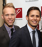 Justin Paul and Benj Pasek attend The New Dramatists' 68th Annual Spring Luncheon at the Marriott Marquis on May 16, 2017 in New York City.