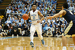14 February 2016: North Carolina's Joel Berry II. The University of North Carolina Tar Heels hosted the University of Pittsburgh Panthers at the Dean E. Smith Center in Chapel Hill, North Carolina in a 2015-16 NCAA Division I Men's Basketball game. UNC won the game 85-64.