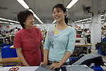 Pei Bin in the Shenzhen Levis factory on February 18th 2009.