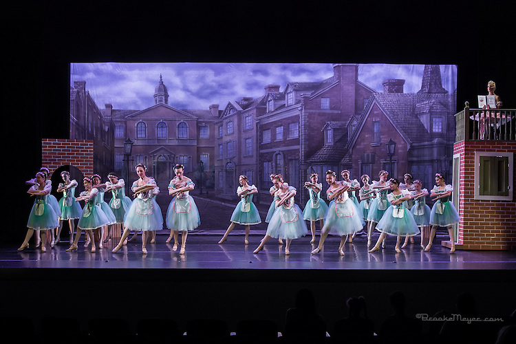 """Dress Rehearsal of """"Coppelia"""", the Spring Gala production of Cary Ballet Company. Cary Arts Center, Thursday, 12 March 2015"""