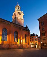 Church of St. Nicholas - Storkyrkan - Stockholm Cathedral, Gamla Stan - old town, Stockholm, Sweden