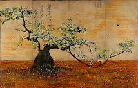 Encaustic Photography Trees & Zen Trees