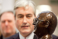 04/02/11 Statue of former Labour leader John Smith