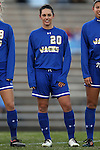 14 November 2014: South Dakota State's Kristin Ford. The University of North Carolina Tar Heels hosted the South Dakota State University Jackrabbits at Fetzer Field in Chapel Hill, NC in a 2014 NCAA Division I Women's Soccer Tournament First Round match. UNC won the game 2-0.