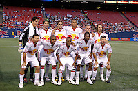 New York Red Bulls starting XI. The New York Red Bulls defeated Real Salt Lake 2-0 during a Major League Soccer match at Giants Stadium in East Rutherford, NJ, on April 18, 2009.