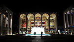 Lincoln Center.  New York, New York.