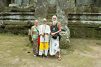 At Gunung Kawi I met a high priest from Sumatra who was on a pilgrimage to pray in all the major temples of Bali. He liked my beard.