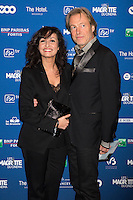 Hakima Darhmouch &amp; Hugo Labye : 7&egrave;me C&eacute;r&eacute;monie des Magritte du Cin&eacute;ma, qui r&eacute;compense le septi&egrave;me art belge, au Square, &agrave; Bruxelles.<br /> 7th edition of the Magritte du Cinema awards ceremony.<br /> Belgium, Brussels, 4 February 2017