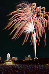 Austin Symphony's Fourth of July Fireworks, Austin, Texas