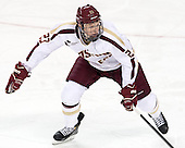 Patrick Brown (BC - 23) - The Boston College Eagles defeated the visiting University of New Hampshire Wildcats 5-2 on Friday, January 11, 2013, at Kelley Rink in Conte Forum in Chestnut Hill, Massachusetts.
