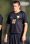31 August 2012: West Virginia's Craig Stephens (NZL). The University of North Carolina Tar Heels defeated the West Virginia University Mountaineers 1-0 at Fetzer Field in Chapel Hill, North Carolina in a 2012 NCAA Division I Men's Soccer game.