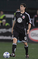 DC United defender Dejan Jakovic (5)  Chicago Fire tied DC United  1-1 at  RFK Stadium, Saturday March 28, 2009.