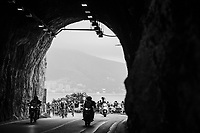 La galleria di Capo Noli tunnel<br /> <br /> 108th Milano - Sanremo 2017