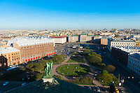 St Petersburg Panorama From St Isaak's Cathedral