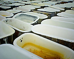 Bath tubs located near Batesville, Miss.