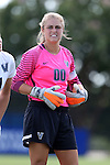 04 September 2016: Villanova's Emmalee Meyer. The University of North Carolina Tar Heels played the Villanova University Wildcats at Koskinen Stadium in Durham, North Carolina in a 2016 NCAA Division I Women's Soccer match. UNC won the game 2-0