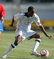 USA's DaMarcus Beasley. U.S.A. defeated Costa Rica 3 - 0 in final round World Cup qualifying at Rice-Eccles Stadium, Salt Lake City, UT, on June 4, 2005.