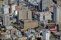 aerial photograph Nob Hill San Francisco, California