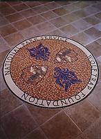Custom signs and medallions - Wolftrap Foundation medallion Vienna, VA