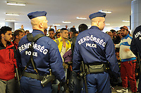 Refugees in Transit at Keleti Station, Budapest (HUN)