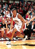 Bethany Donaphin during the 1999-2000 women's basketball season at Maples Pavilion in Stanford, CA.