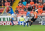 Dundee United v St Johnstone...24.08.13      SPFL<br /> Keith Watson scores the first goal<br /> Picture by Graeme Hart.<br /> Copyright Perthshire Picture Agency<br /> Tel: 01738 623350  Mobile: 07990 594431