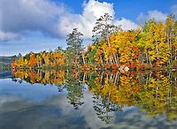 Upper Togue Pond near Baxter State Park Maine
