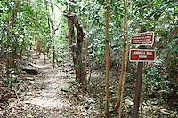 Trail to America Hill Ruins.St. John .U.S. Virgin Islands