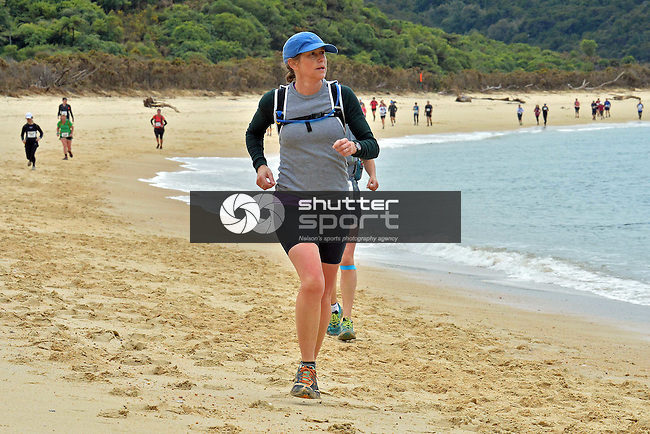 21st Edition of the Abel Tasman Coastal Classic Trail Run, 20 September 2014, Abel Tasman National Park, Motueka, Nelson New Zealand, Photo: Barry Whitnall / shuttersport.co.nz