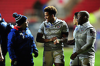 Anthony Watson of Bath Rugby looks on after the match. European Rugby Challenge Cup match, between Bristol Rugby and Bath Rugby on January 13, 2017 at Ashton Gate Stadium in Bristol, England. Photo by: Patrick Khachfe / Onside Images